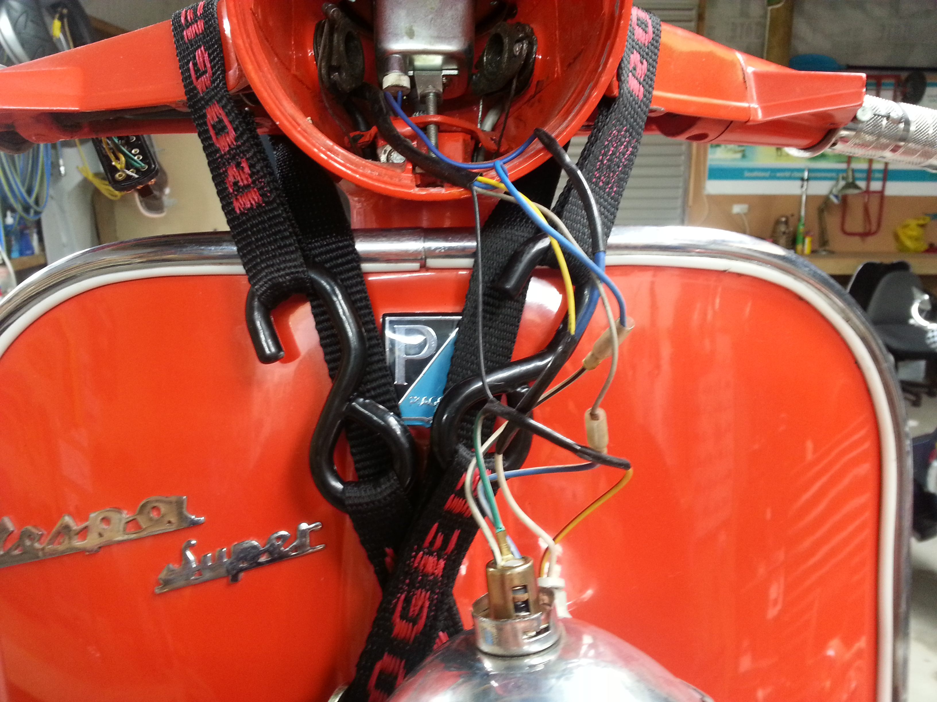 Mrs Jcs Super Southern Scoot Vespa Vba Wiring Diagram I Have Been Following A From The Scooterhelp Website Using New Light Switch And Some Relays To Get Electric Start Rest Of