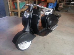 Elsie the Lambretta update 2