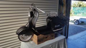 Elsie the Lambretta update 4